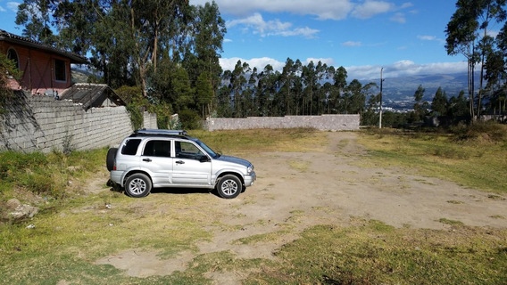 Vendo Terreno De 2500m La Armenia Puen3 Valle De Los Chillos
