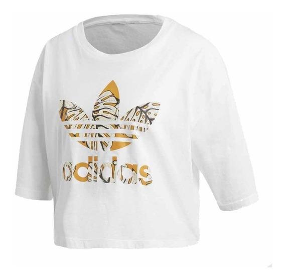 Pupera adidas Ori Estamp. Blanco/naranja Dama Deporfan