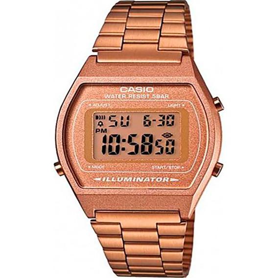Relógio Casio Original Vintage Rosê B640wc-5adf Com Nota Fis