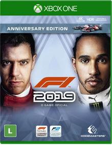 Fórmula 1 2019 F1 Anniversary Edition Xbox One Mídia Física