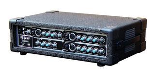 Wenstone Consola Potenciada Ma-4200e Mp3 4 Canales 200 W Rms