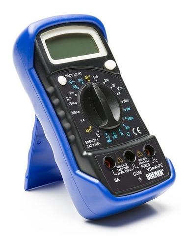 Imagen 1 de 5 de Multimetro Tester Digital Medidor Temperatura Bremen 6692