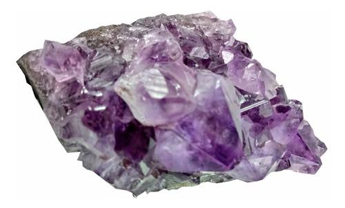 Pedra Cristal Natural Drusa Ametista Semi Preciosa Unidade