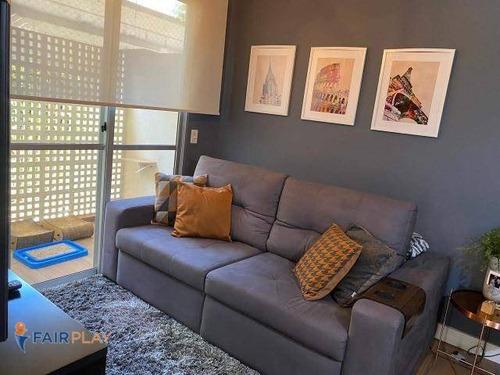 Apartamento Térreo Com Facil Acesso Para Marginal E Shopping Jardim Sul 54m² 2 Dormitórios 1 Vaga - Ap6103