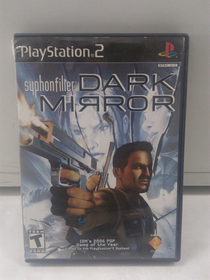 Syphonfilter: Dark Mirror - Playstation 2 - Mídia Original