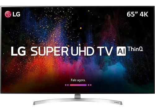 Tv LG Sk8500 Nano Cell 65 Polegadas 4k (display Quebrado)