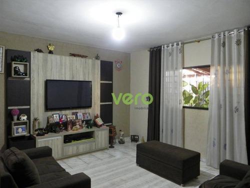 Casa Com 3 Dormitórios À Venda, 252 M² Por R$ 650.000 - Campo Limpo - Americana/sp - Ca0128
