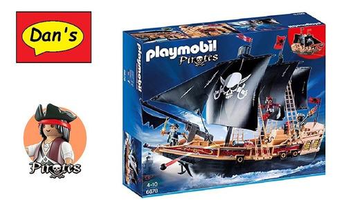 Playmobil 6678 - Barco Pirata De Combate