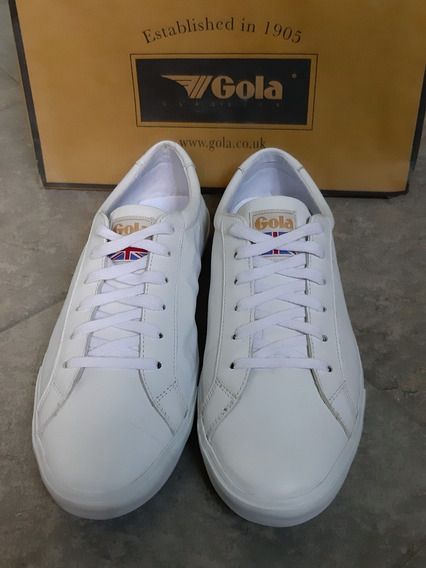 Zapatillas De Eco Cuero Gola Originales
