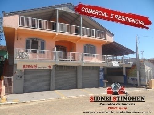 Imóvel Amplo Comercial E Residencial, Em Bal. Barra Do Sul  Sc. - 166