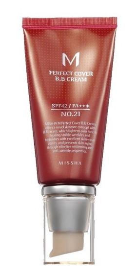 Bb Cream Missha 21 Bege Claro, 50 Ml Original Fps42 Promoção
