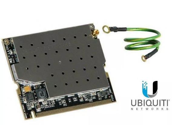 5 Placas Wifi Ubiquiti Xr2 Minipci 600 Mw 2.4 Ghz Oferta !!