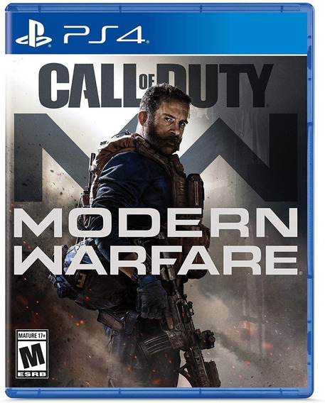 Call Of Duty: Modern Warfare - Ps4 - Mídia Física!