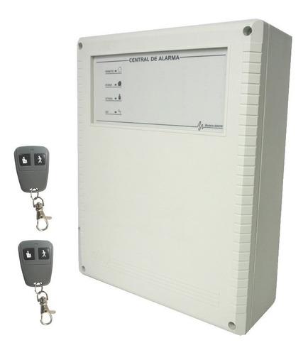 Imagen 1 de 4 de Central Alarma Inalambrica 6002w X28 Alarmas 2 Controles Remotos