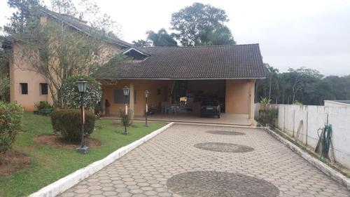 Chácara Com 3 Dormitórios À Venda, 50000 M² Por R$ 2.000.000 - Penhinha - Arujá/sp - Ch0084