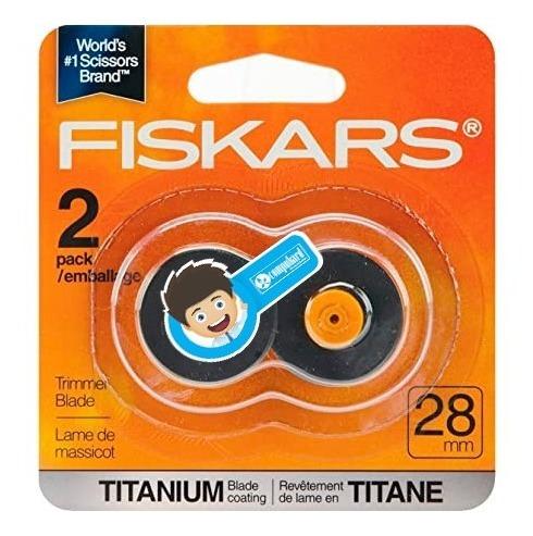 Fiskars Cuchilla De Corte Giratoria Titanio  28mm