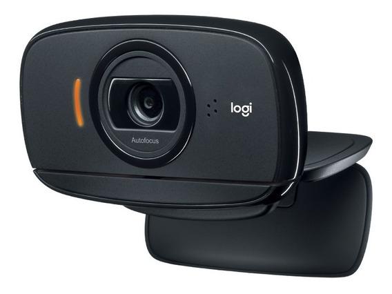Webcam Hd C525 Hd 720p Rotação 360graus Foco Automático