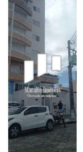 Imagem 1 de 15 de Oportunidade Única, Apartamento De 01 Dormitório Próximo Ao Mar Parcelas Decrescentes Guilhermina Praia Grande S/p.