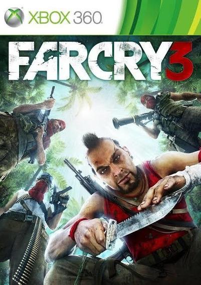 Far Cry 3 Xbox 360 Mídia Digital