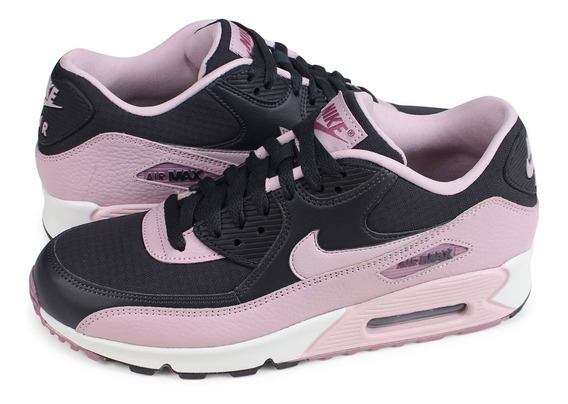 Tênis Nike Air Max 90 Oil Grey Plum Chalk Feminino.