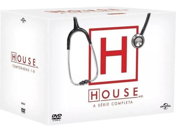 Box Dvd House Coleção Completa 8 Temporadas 46 Discos Novo