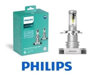 Hl Lâmpada Led Par H4 Philips 6200ko AjRL345