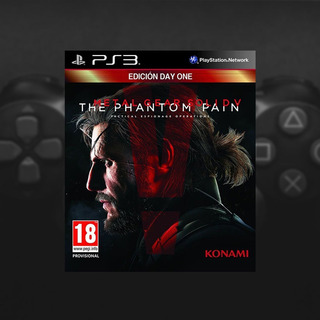 Metal Gear Solid 5 The Panthom Pain Ps3 Digital