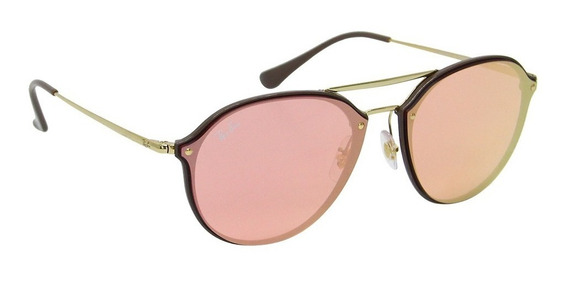Óculos De Sol Feminino Ray-ban Rb 4292 Blaze Original