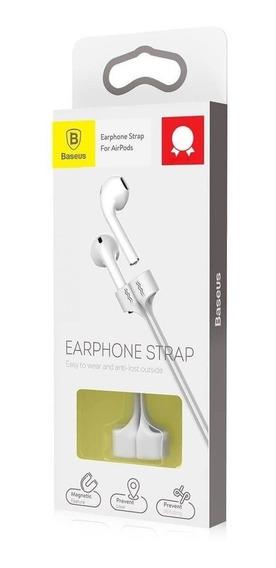 Alça Magnetica Baseus Earphone Strap Para Apd Cinza +nf