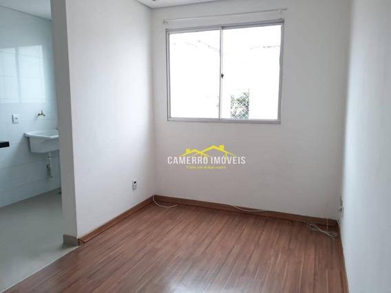 Apartamento Com 2 Dormitórios Para Alugar, 50 M² Por R$ 700,00/mês - Chácara Letônia - Americana/sp - Ap0560