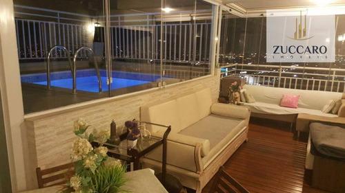 Cobertura Com 2 Dormitórios À Venda, 184 M² Por R$ 1.700.000,00 - Vila Augusta - Guarulhos/sp - Co0058