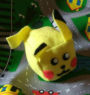 Sonajero De Pikachu, Pokemon De Tela Para Bebes