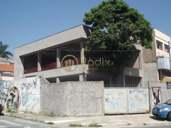 Excelente Prédio Comercial Com 370 Metros Úteis , Local Super Valorizado !! Novo !! - Rx6728