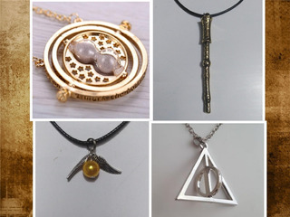 Harry Potter Snitch , Giratiempo, Varita, Y Reliquias