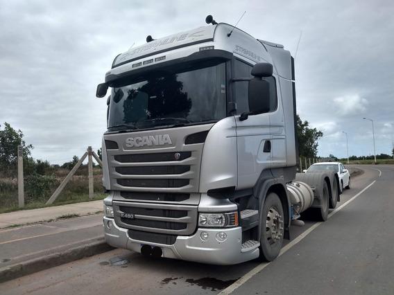 Scania R-480 Streamline 6x2 Ano 2018/19 Retarder 80 Mil Km