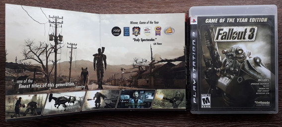 Fallout 3: Game Of The Year Edition - Ps3