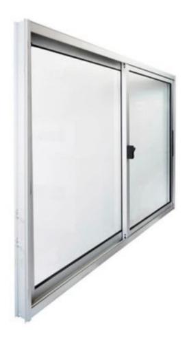 Imagen 1 de 3 de Ventana Aluminio 1.50x1.20 Serie 20