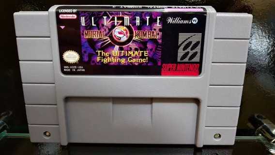 Fita / Cartucho Ultimate Mortal Kombat 3 Super Nintendo