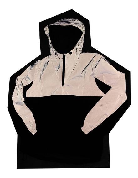 Jaqueta Corta Vento Inteira Refletivo Masculino Importada