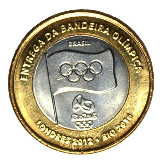 Moeda Entrega Da Bandeira Dos Jogos No Brasil Fc