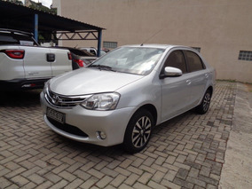 Toyota Etios Sedan Platinum 1.5 Único Dono Topo De Linha