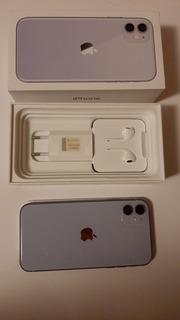 Celular iPhone 11, 64 Gigas, Cor Lilás Bateria 99% Novinho