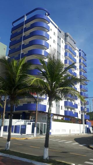 Apto Novo 01 Dormitório Em Mongaguá, Frente Mar (887)