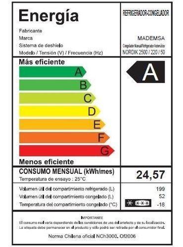 Refrigerador Electrolux 198 Litros Frío Directo Erdg195yskg