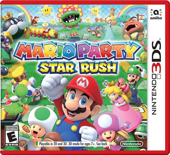 Mario Party: Star Rush - Nintendo 3ds Codigo Digital
