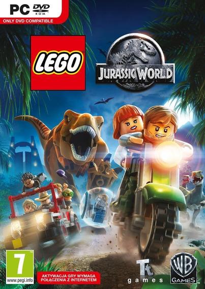 Lego Jurassic World + Todas Dlcs Gamep/pc Frete Baixo