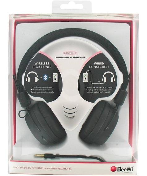 Fone De Ouvido Beewi Bluetooth - Preto