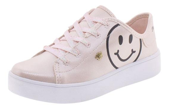 Tênis Infantil Feminino Pink Cats - V0443v Rosa