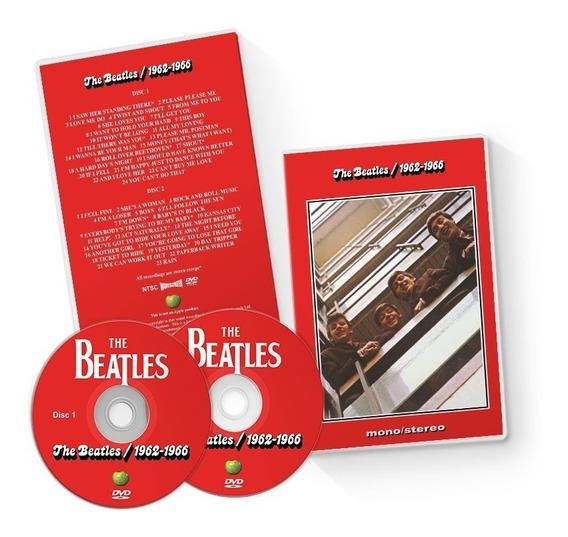 The Beatles - 4 Dvds Com 91clipes + Brinde