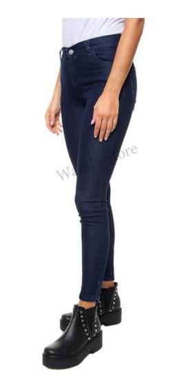 Pantalon De Jeans Tiro Alto Super Elastizados Talles 36 A 46